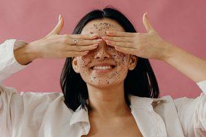 tipos de exfoliantes para la cara