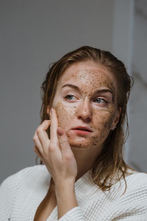 Mascara exfoliante facial